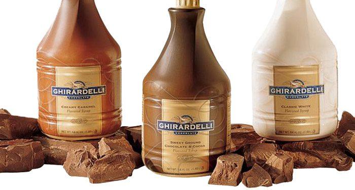 Ghiradelli Bottles