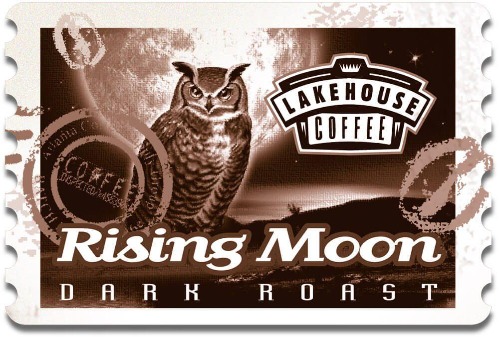 Coffee Rising Moon
