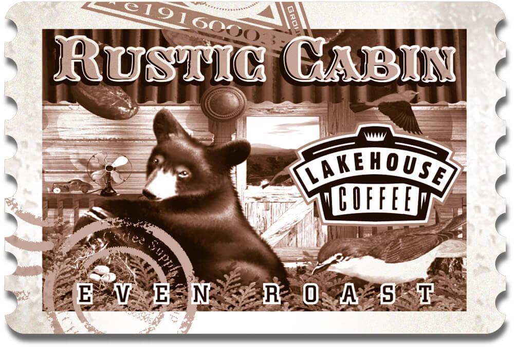 Coffee Rustic Cabin