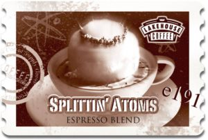 Coffee Splittin Atoms